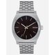 NIXON Time Teller Dark Cedar Watch