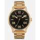 NIXON Patrol Gold & Black Watch