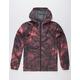 VOLCOM Ermont Burgundy Mens Windbreaker Jacket