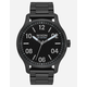 NIXON Patrol Black & Silver Watch