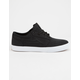 LAKAI Griffin Black Textile & White Mens Shoes