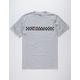 VANS x Independent Checkerboard Grey Mens T-Shirt