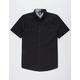 VOLCOM Everette Oxford Black Mens Shirt