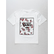VANS Rose Print Box Boys T-Shirt