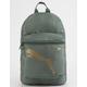 PUMA Mainline Essential Green Mini Backpack