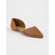 BAMBOO Cutout Pointed Toe Womens Flats