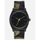 NIXON Time Teller Black & Cheetah Watch