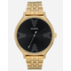 NIXON Selfie-Centered Clique Gold & Black Watch