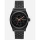 NIXON Time Teller All Black & Cheetah Watch