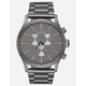 NIXON Raising The Bar Sentry Chrono All Gunmetal & Gray Watch