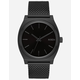 NIXON Time Teller Milanese All Black Watch