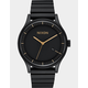 NIXON Station Matte Black & Gold Watch
