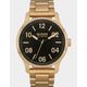 NIXON Patrol All Gold Watch