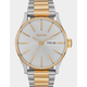 NIXON Sentry SS Silver & Gold Watch