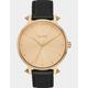 NIXON Kensington Leather Gold & Artifact Watch