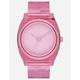 NIXON Time Teller P Pink Watch