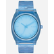 NIXON Time Teller P Light Blue Watch