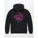 PINK DOLPHIN Sheen Waves Mens Hoodie