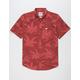 RVCA Andrew Reynolds Hawaiian Red Mens Shirt