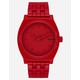 NIXON Simplify Time Teller All Red Watch