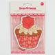 Rose Cream Cupcake Air Freshener