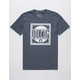 VOLCOM Jaunty Heather Navy Mens T-Shirt