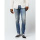 RSQ Seattle Vintage Mens Skinny Taper Ripped Jeans