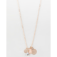 FULL TILT Howlite Rose Dainty Necklace