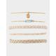 FULL TILT 5 Piece Howlite & Braid Bracelets