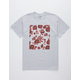 LA FAMILIA Core Rose Heather Mens T-Shirt