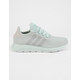 ADIDAS Swift Run Green & Gray Womens Shoes