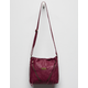 WALLFLOWER Lonna Burgundy Crossbody Bag