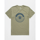ELEMENT Beams Heather Olive Mens T-Shirt