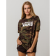 VANS Drafted Oversized Camouflage Womens Tee