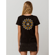VANS Skimmer Sunflower Womens Tee