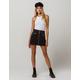 IVY & MAIN Corduroy Zip Front Mini Skirt