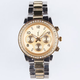 Rhinestone Metal Watch