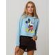 DISNEY Mickey Mouse Womens Crop Hoodie