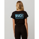 RVCA Octane Womens Pocket Tee