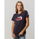 THE NORTH FACE Half Dome Navy Womens Tee
