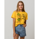 MIGHTY FINE Give A Hoot Womens Crop Tee