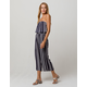 CHANCE Navy Stripe Tube Womens Jumpsuit