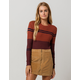 RVCA Even Striped Womens Sweater