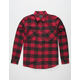 SHOUTHOUSE Buffalo Mens Flannel Shirt