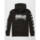YOUNG & RECKLESS Cross Out Mens Hoodie