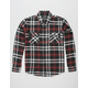 SHOUTHOUSE Vortex Mens Flannel Shirt