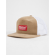 BRIXTON Palmer Natural Mens Trucker Hat