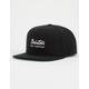 BRIXTON Jolt Black Mens Snapback Hat