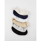 FULL TILT 6 Pack Neutral Womens No Show Socks
