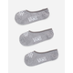 VANS 3 Pack Basic Heather Grey Girls Canoodle Socks